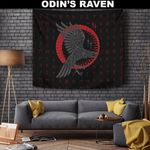 1stIceland Viking Tapestry, Ragnar's Raven Runes A7 - 1st Iceland