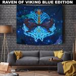 1stIceland Viking Tapestry, Odin's Ravens Yggdrasil A7 - 1st Iceland