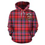 ScottishShop Straiton Tartan Clan Badge Hoodie
