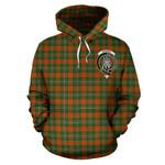 ScottishShop Strang Tartan Clan Badge Hoodie