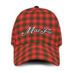 ScottishShop MacFie (of Dreghorn) Classic Cap - MacFie (of Dreghorn) Text Embroidery Hat - Ac