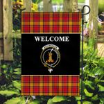 ScottishShop Scrymgeour Flag - Welcome Tartan Day Garden Flag - aC