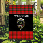ScottishShop Maule Flag - Welcome Tartan Day Garden Flag - aC