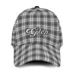 ScottishShop Glen Classic Cap - Glen Text Embroidery Hat - Ac