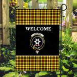 ScottishShop Jardine Flag - Welcome Tartan Day Garden Flag - aC