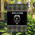 ScottishShop Craig Flag - Welcome Tartan Day Garden Flag - aC