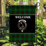ScottishShop Kinloch Flag - Welcome Tartan Day Garden Flag - aC