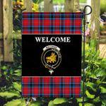 ScottishShop MacTavish Flag - Welcome Tartan Day Garden Flag - aC