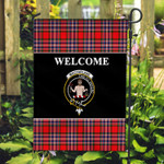 ScottishShop MacFarlane Flag - Welcome Tartan Day Garden Flag - aC