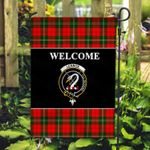 ScottishShop Lennox Flag - Welcome Tartan Day Garden Flag - aC