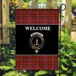 ScottishShop MacAlister Flag - Welcome Tartan Day Garden Flag - aC