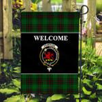 ScottishShop Primrose Flag - Welcome Tartan Day Garden Flag - aC