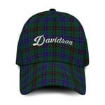 ScottishShop Davidson Classic Cap - Davidson Text Embroidery Hat - Ac