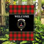 ScottishShop Erskine Flag - Welcome Tartan Day Garden Flag - aC