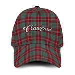 ScottishShop Crawford Classic Cap - Crawford Text Embroidery Hat - Ac