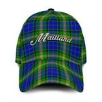 ScottishShop Maitland Classic Cap - Maitland Text Embroidery Hat - Ac
