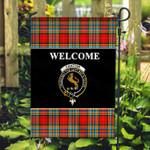 ScottishShop Chattan Flag - Welcome Tartan Day Garden Flag - aC