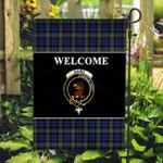 ScottishShop Baird Flag - Welcome Tartan Day Garden Flag - aC