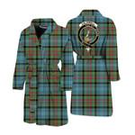 Scottishshop Caldwell Men Bathrobe - Caldwell Bathrobe Badge - aC