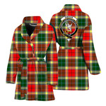 Scottishshop Gibson Women Bathrobe - Gibson Bathrobe Badge - aC