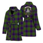 Scottishshop Dalrymple Women Bathrobe - Dalrymple Bathrobe Badge - aC