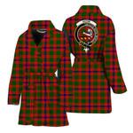 Scottishshop Skene Women Bathrobe - Skene Bathrobe Badge - aC
