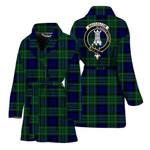 Scottishshop MacCallum Women Bathrobe - MacCallum Bathrobe Badge - aC