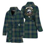 Scottishshop Kennedy Women Bathrobe - Kennedy Bathrobe Badge - aC