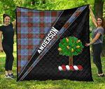 ScottishShop Anderson Premium Quilt - Anderson Clan Cross Style - aC