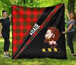 ScottishShop Adair Premium Quilt - Adair Clan Cross Style - aC