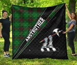 ScottishShop Anstruther Premium Quilt - Anstruther Clan Cross Style - aC