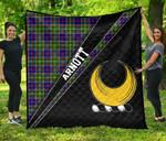ScottishShop Arnott Premium Quilt - Arnott Clan Cross Style - aC