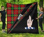 ScottishShop Boyd Premium Quilt - Boyd Clan Cross Style - aC