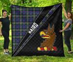 ScottishShop Baird Premium Quilt - Baird Clan Cross Style - aC