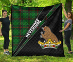 ScottishShop Beveridge Premium Quilt - Beveridge Clan Cross Style - aC