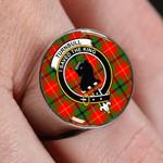 ScottishShop Turnbull - Crest Tartan Ring