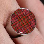 ScottishShop MacAlister Modern- Tartan Ring
