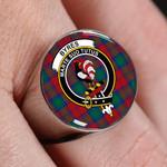 ScottishShop Byres - Crest Tartan Ring