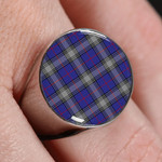ScottishShop Kinnaird Tartan - Tartan Ring