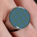 ScottishShop Clelland modern - Tartan Ring