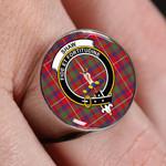 ScottishShop Shaw of Tordarroch - Crest Tartan Ring