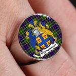 ScottishShop Whitefoord Modern - Crest Tartan Ring