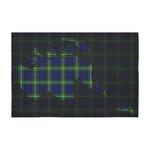 ScottishShop Tartan Tablecloth - Forbes Modern Tartan Map