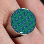 ScottishShop Irvine Ancient - Tartan Ring