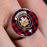 ScottishShop MacLachlan Modern - Crest Tartan Ring