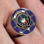 ScottishShop Kinnaird  - Crest Tartan Ring