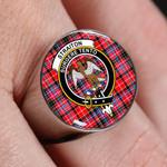 ScottishShop Straiton - Crest Tartan Ring