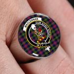 ScottishShop MacLennan LARGE - Crest Tartan Ring