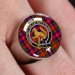 ScottishShop Gow of McGouan - Crest Tartan Ring