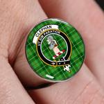 ScottishShop Clephan (or Clephane) - Crest Tartan Ring